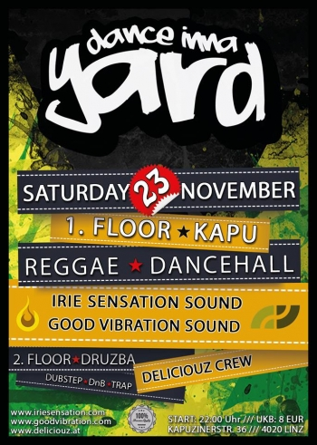 Flyer - Dance inna yard #1 - 2013