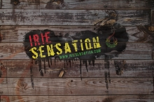 "Irie Stuff - Wallpaper - ""Irie Wood 2"""