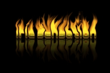 "Irie Stuff - Wallpaper - ""Irie Flames"""
